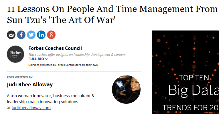 "11 Lessons On People And Time Management From Sun Tzu's ""The Art Of War"""