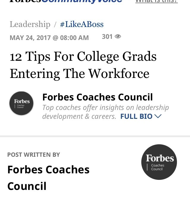 12 Tips for College Grads Entering the Workforce