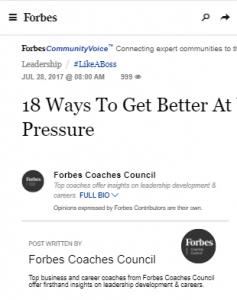 18 Ways to Get Better at Working Under Pressure