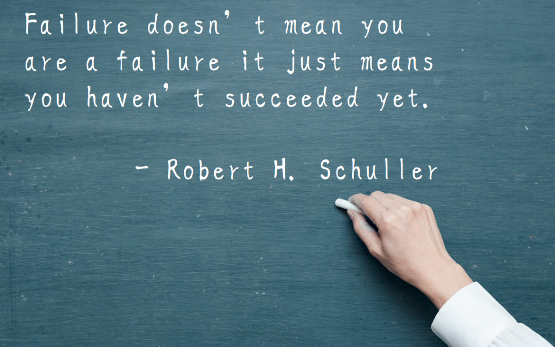 Failure, Motivation, and You